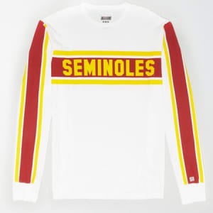 Tailgate Men's FSU Seminoles Long Sleeve T-Shirt White L