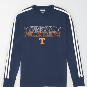 Tailgate Men's Tennessee Volunteers Long Sleeve T-Shirt Blue XS