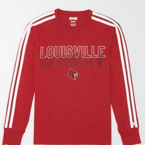 Tailgate Men's Louisville Cardinals Long Sleeve T-Shirt Red M