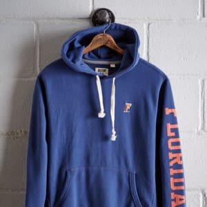 Tailgate Men's Florida Fleece Hoodie Royal Blue S