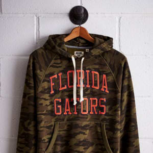 Tailgate Men's Florida Camo Hoodie Olive S