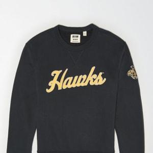 Tailgate Men's Iowa Hawkeyes Sweatshirt Storm Dark XS