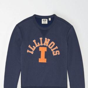 Tailgate Men's Illinois Fighting Illini Sweatshirt Blue XL
