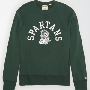 Tailgate Men's MSU Spartans Sweatshirt Green XS