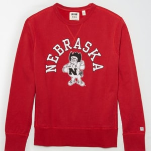 Tailgate Men's Nebraska Sweatshirt Red XS