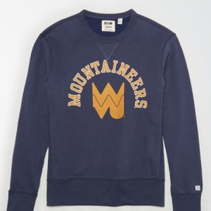 Tailgate Men's WVU Mountaineers Sweatshirt Blue S