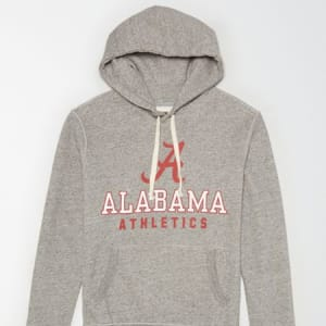 Tailgate Men's Alabama Crimson Tide Fleece Hoodie Gray Heather XS