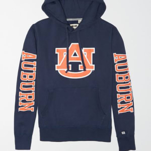 Tailgate Men's Auburn Tigers Fleece Hoodie Blue M