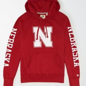 Tailgate Men's Nebraska Cornhuskers Fleece Hoodie Red S