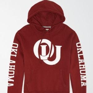 Tailgate Men's Oklahoma Sooners Fleece Hoodie Red XL