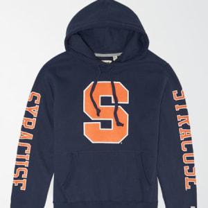 Tailgate Men's Syracuse Orange Fleece Hoodie Blue L