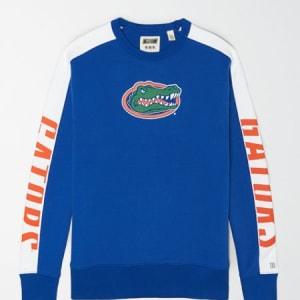 Tailgate Men's Florida Gators Crew Sweatshirt Classic Blue L