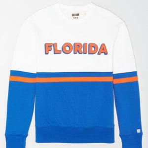 Tailgate Men's Florida Gators Colorblock Sweatshirt White XL