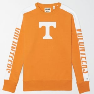 Tailgate Men's Tennessee Volunteers Crew Sweatshirt Victory Orange XS