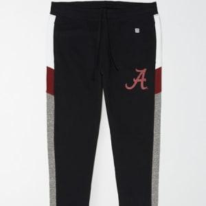 Tailgate Men's Alabama Crimson Tide Fleece Sweatpant Bold Black XXL