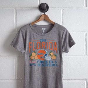 Tailgate Women's Peach Bowl T-Shirt Multi M