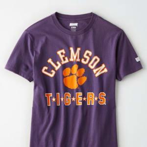 Tailgate Women's Clemson Tigers T-Shirt Purple M