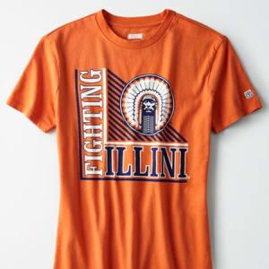 Tailgate Women's Fighting Illini T-Shirt Orange L