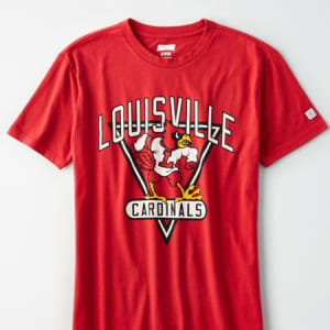 Tailgate Women's Louisville Cardinals Graphic T-Shirt Red S