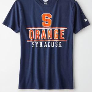 Tailgate Women's Syracuse Orange Graphic T-Shirt Blue XL
