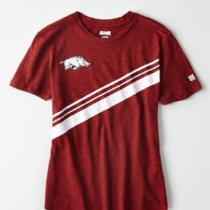 Tailgate Women's Arkansas Slub Jersey T-Shirt Red M