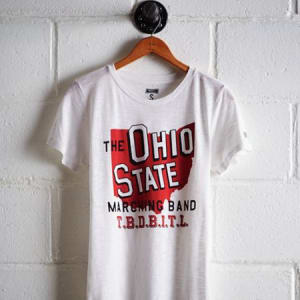Tailgate Women's Ohio State Marching Band T-Shirt White L