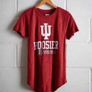 Tailgate Women's Indiana Hoosiers T-Shirt Red S