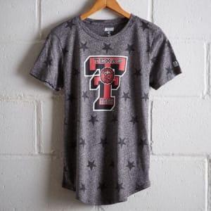 Tailgate Women's Texas Tech Star T-Shirt Salt And Pepper S