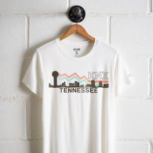 Tailgate Women's KNX Tennessee Boyfriend Tee White S