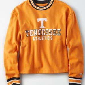 Tailgate Women's Tennessee Volunteers Tipped Fleece Sweatshirt Orange S