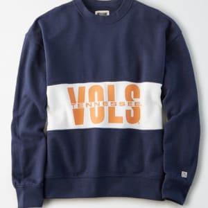 Tailgate Women's Tennessee Volunteers Colorblock Sweatshirt Blue XS