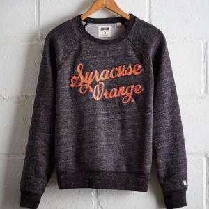 Tailgate Women's Syracuse Crew Sweatshirt Charcoal XS