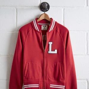 Tailgate Women's Louisville Bomber Jacket Red S