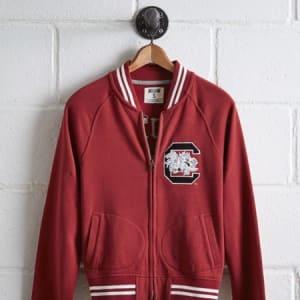 Tailgate Women's South Carolina Bomber Jacket Red M