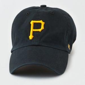 '47 Brand Pittsburgh Pirates Baseball Hat Black One Size