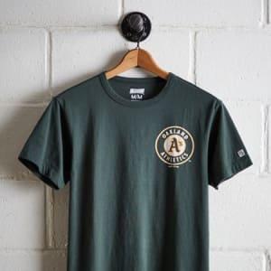 Tailgate Men's Oakland Athletics Graphic T-Shirt Green XS