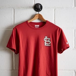 Tailgate Men's St. Louis Cardinals Graphic T-Shirt Red XS