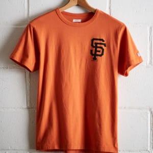 Tailgate Men's San Francisco Giants Graphic T-Shirt Orange S