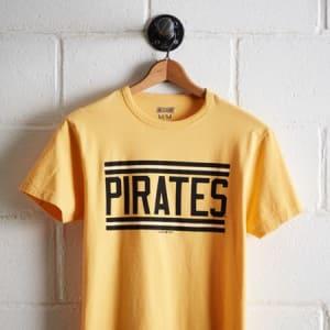 Tailgate Men's Pittsburgh Pirates T-Shirt Yellow XS