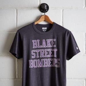 Tailgate Men's Colorado Rockies T-Shirt Charcoal XS