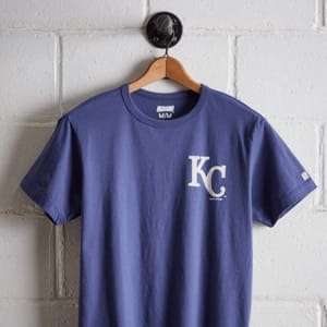 Tailgate Men's Kansas City Royals Graphic T-Shirt Royal Blue S