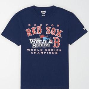 Tailgate Men's Boston Red Sox World Series T-Shirt Navy M