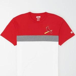 Tailgate Men's St. Louis Cardinals Colorblock T-Shirt White L