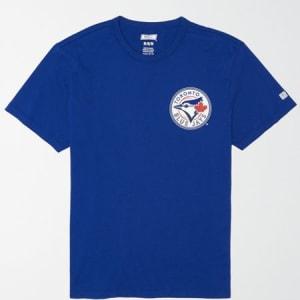 Tailgate Men's Toronto Blue Jays Graphic T-Shirt Brilliant Blue XS