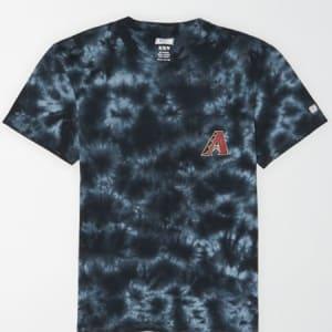 Tailgate Men's Arizona Diamondbacks Pocket T-Shirt Bold Black XS