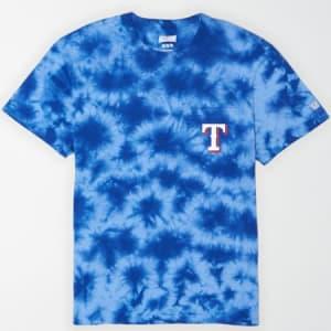 Tailgate Men's Texas Rangers Pocket T-Shirt Brilliant Blue XL