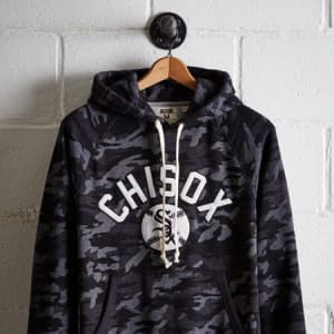 Tailgate Men's Chicago White Sox Hoodie Traditional Camo M