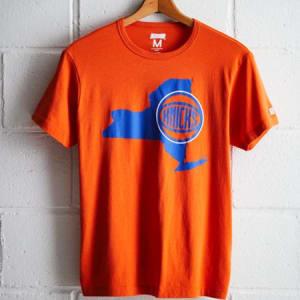 Tailgate Men's New York Knicks T-Shirt Orange S