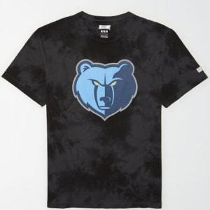 Tailgate Men's Memphis Grizzlies Tonal Dye T-Shirt Bold Black S