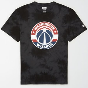 Tailgate Men's Washington Wizards Tonal Dye T-Shirt Bold Black S